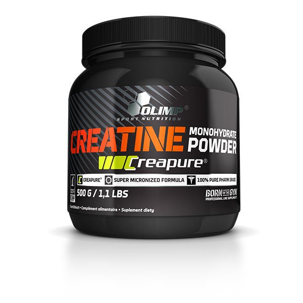 Creatine Monohydrate Powder (Creapure) 500g Olimp