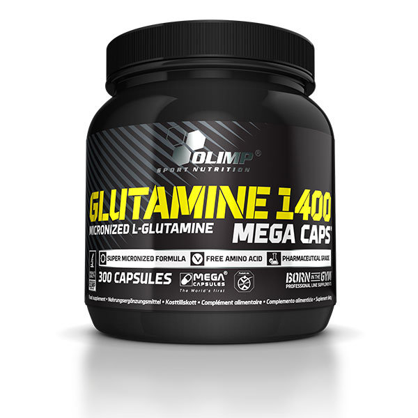 Glutamine 1400 Mega Caps 300 kaps Olimp