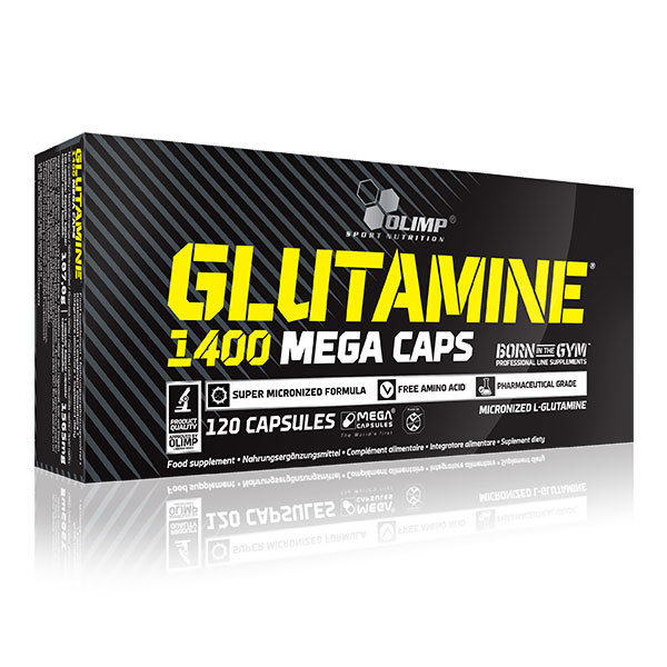 Glutamine Mega Caps 120 kaps blistry Olimp