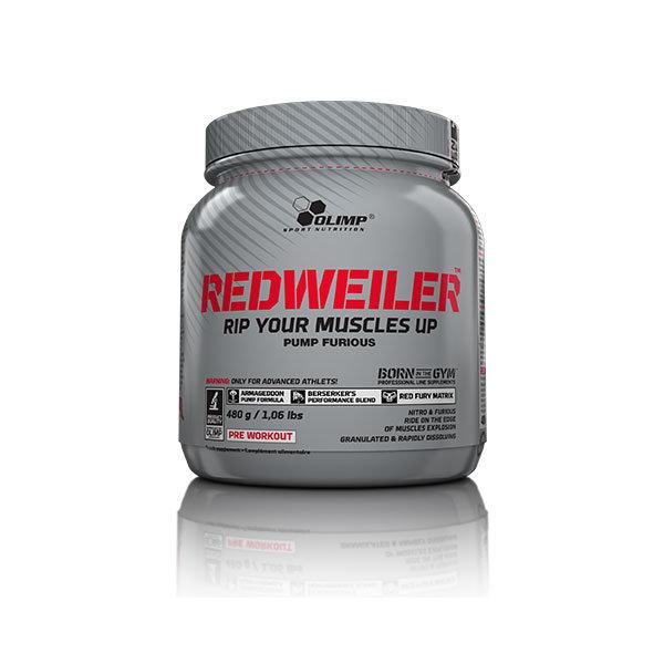 Olimp REDWEILER 480g red punch