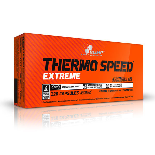 Olimp Thermo Speed Extreme mega caps 120 kaps blistry