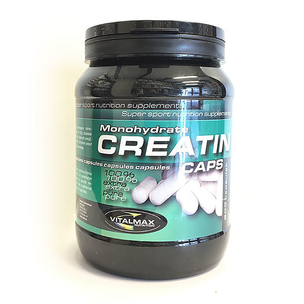 Creatine Monohydrate 600 kaps Vitalmax