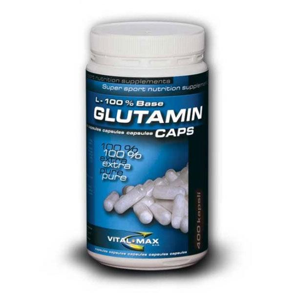 Glutamin L-100% Base 200 kaps Vitalmax