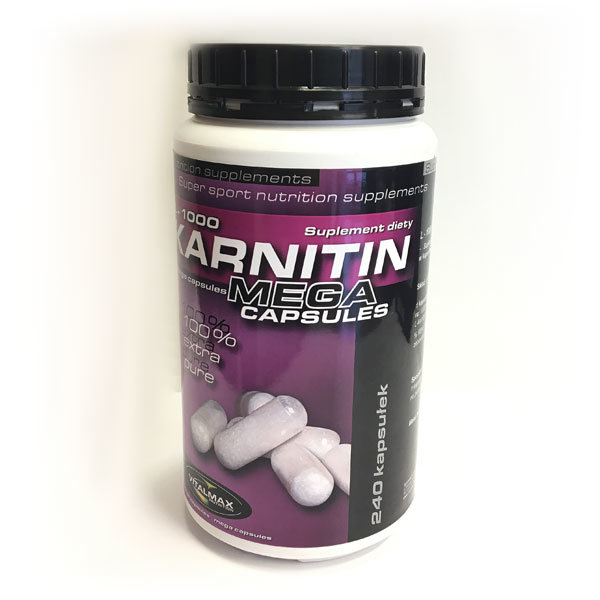 L-Karnitin L-1000 240 kaps Vitalmax