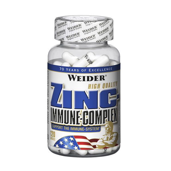 Weider Zinc Immune Complex 120 kaps
