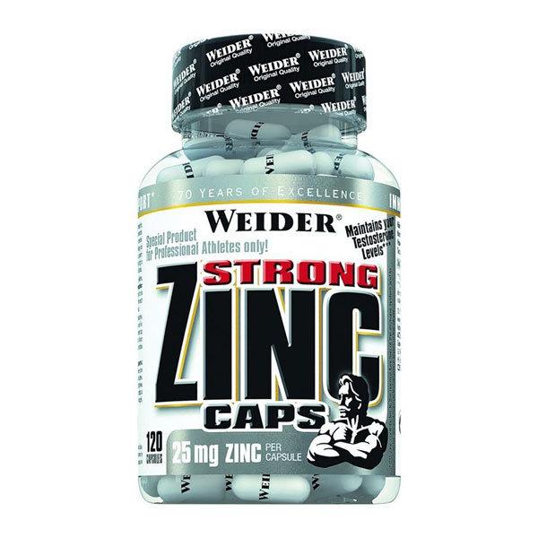 Weider Zinc STRONG Caps 120 kaps